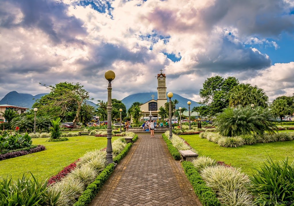 Our Escapades - La Fortuna Church