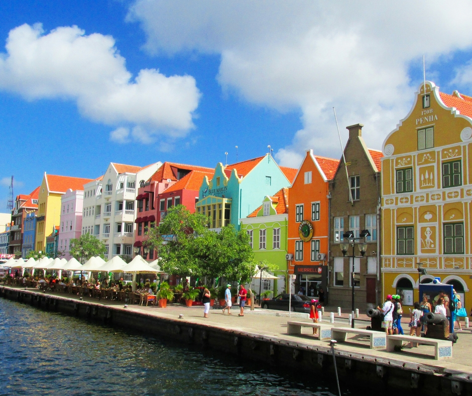 Curaçao's dutch architecture in the Caribbean
