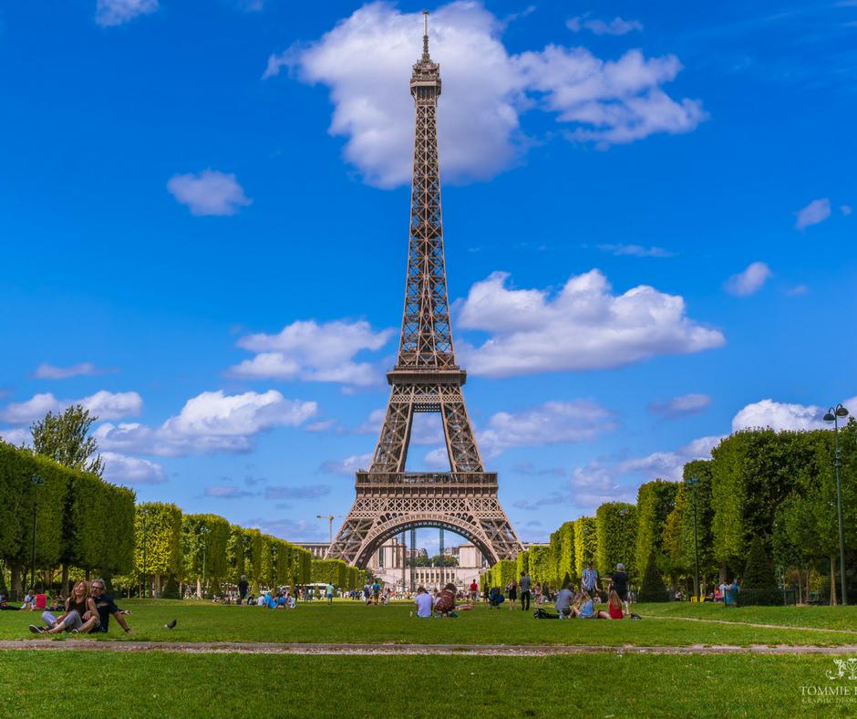 Eiffel Tower, Paris France, Inspiring travel
